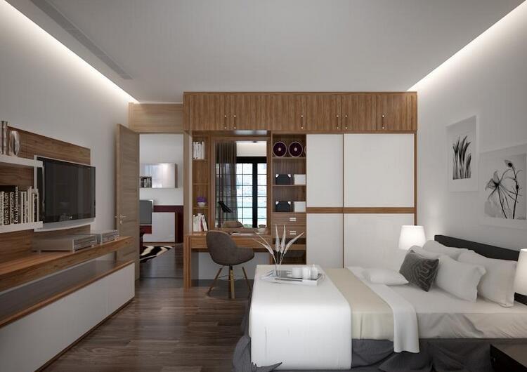 70㎡以下—两室两厅倾心实用两居定制家具设计