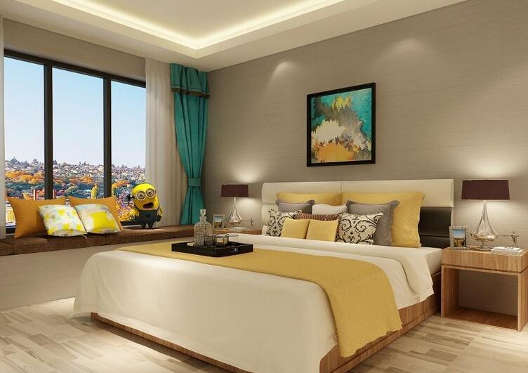 80-90㎡两室两厅现代居家春风入户舒适两居型