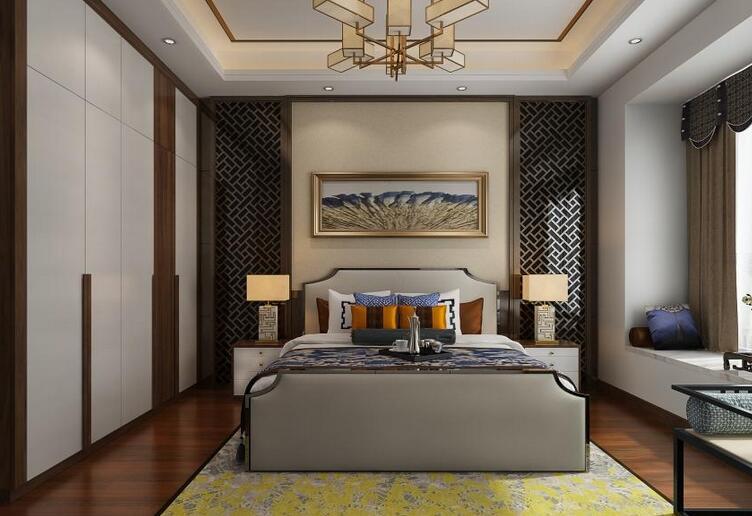 120㎡三房两厅 丨现代风格新中式雅致三居